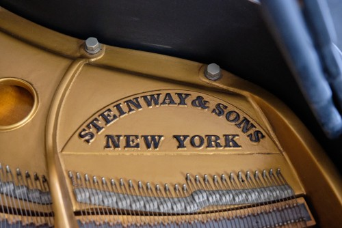 Steinway M 1962, Custom Black Matte, Shabby Chic 1962 Excellent Condition, Just Refinished and restored  $16,950