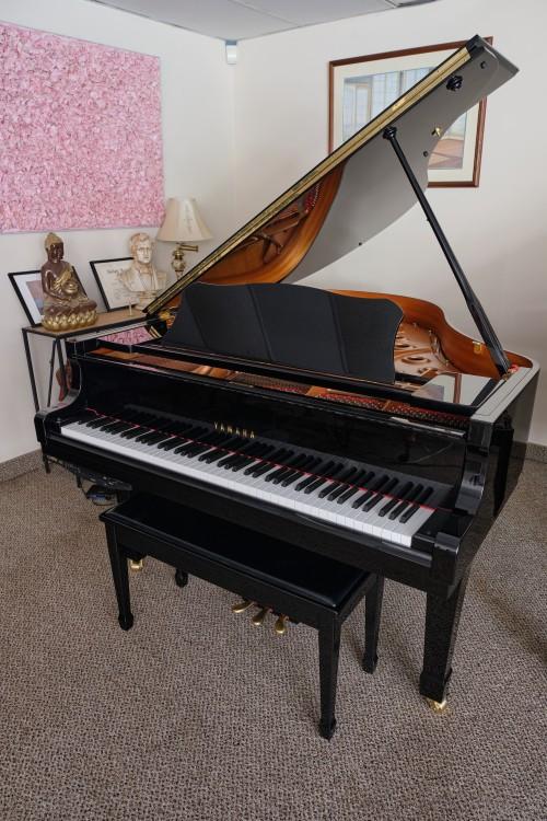 Yamaha Grand Piano C2 2006, Polished Ebony Gloss, 5'8