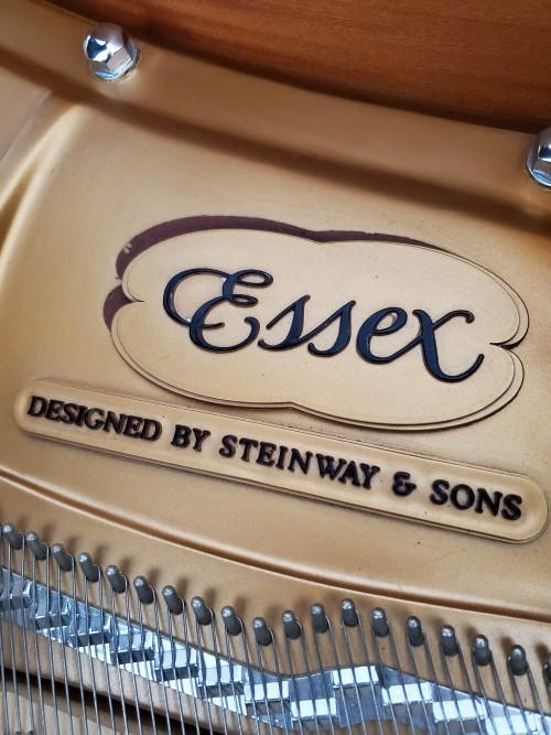Essex By Steinway Ebony Gloss 2007 Baby Grand 5'3