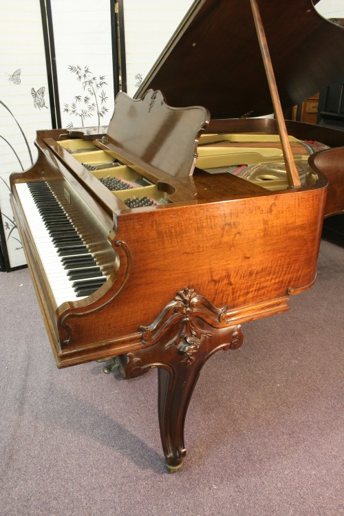 (SOLD) Art Case Knabe Walnut Baby Grand Piano