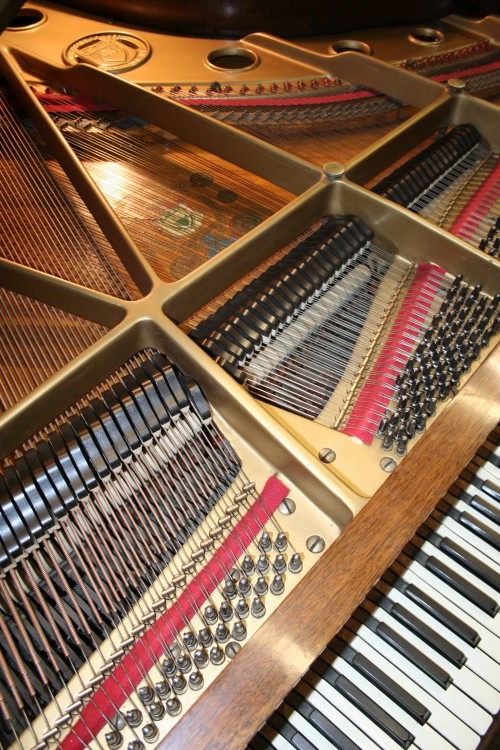 (SOLD) Art Case Knabe Walnut Baby Grand Piano