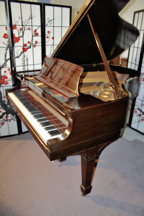 (SOLD) Used Steinway Model L Mahogany  (VIDEO) 'Golden Age' 1929 Excellent Condition Original Parts Sublime