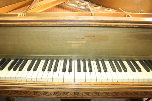 (SOLD) Art Case Steinway Grand Piano (VIDEO) Model A King Louis XVI Custom Made For Sale