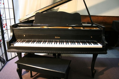 Art Case Ebony Gloss Sterling Baby Grand Piano $4500.