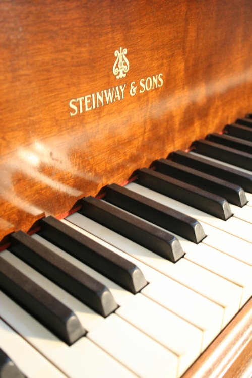 (SOLD!) Congratulations & Thank you Mike) Art Case Steinway Baby Grand Piano Chippendale Style (VIDEO) Steinway  Piano Model S 1939