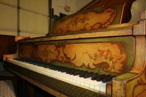 (SOLD) Art Case Hardman Baby Grand