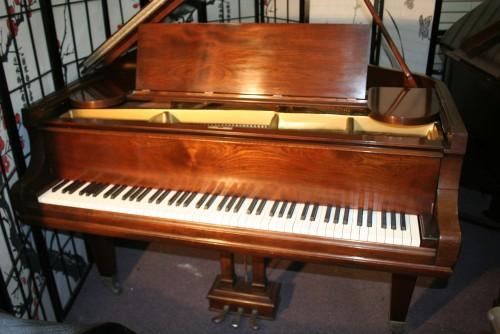 (SOLD) Used Pre-owned Mason & Hamlin Model A Grand Piano Reblt/Refin. Warranty