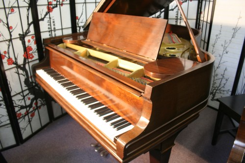 (SOLD) Used Pre-owned Mason & Hamlin Model A Grand Piano Reblt/Refin. Warranty