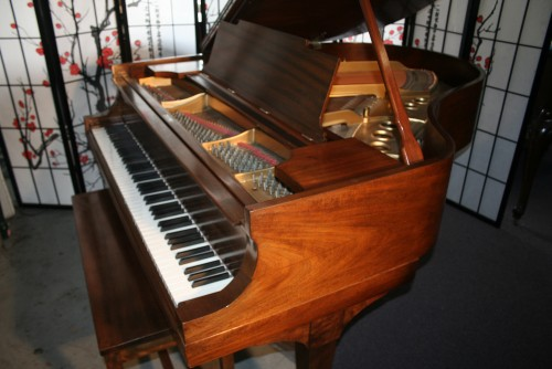 (SOLD) Steinway Grand Piano Model M 1920 Rebuilt & Refinished around  2000