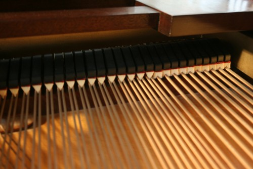 (SOLD) Steinway Grand Piano Model M 1920 Rebuilt & Refinished around  2000