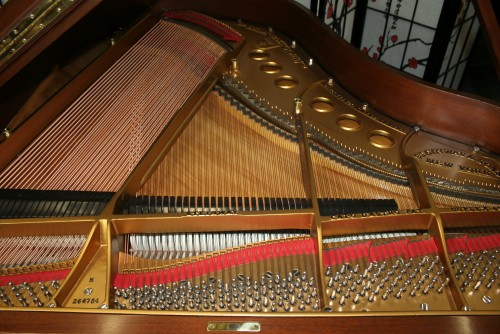 King Louis XV Style Steinway Model M Art Case 1929 (VIDEO) Rebuilt & Refinished Gorgeous Walnut (SOLD)
