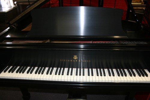 (SOLD) Steinway Grand Piano Model L 1980 All Original Steinway Parts Excellent