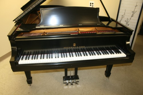 (SOLD) Steinway Grand Piano Model B 1920 Just Refinished/Rebuilt