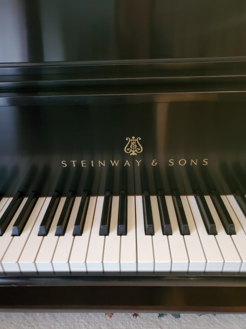 (SOLD) Art Deco Style Steinway Piano
