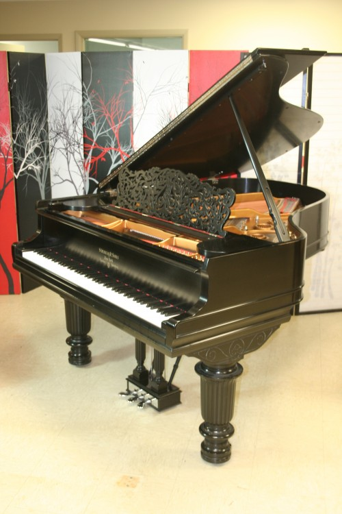 (SOLD) Art Case Steinway L Grand Piano 2003 150th Anniversary Model