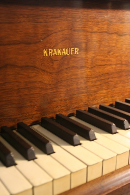 (SOLD Congratulations Leslie) Art Case Krakauer Baby King Louis XV Style Walnut