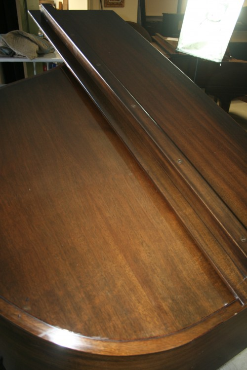 (SOLD)Art Case Baby Grand Mahogany Standard by Hardman Refurbished 10/2013