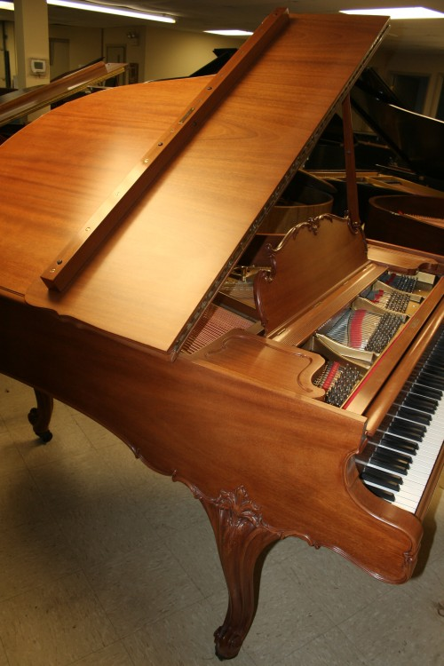 (SOLD) Art Case Steinway Model M Grand Piano King Louis XV Walnut 1927  Rebuilt/Refinished