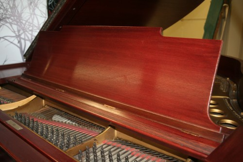 Steinway Model M 1924 Red Mahogany New Renner Blue Hammers & Shanks! Refurbished/Refinished 2013 $10,500.