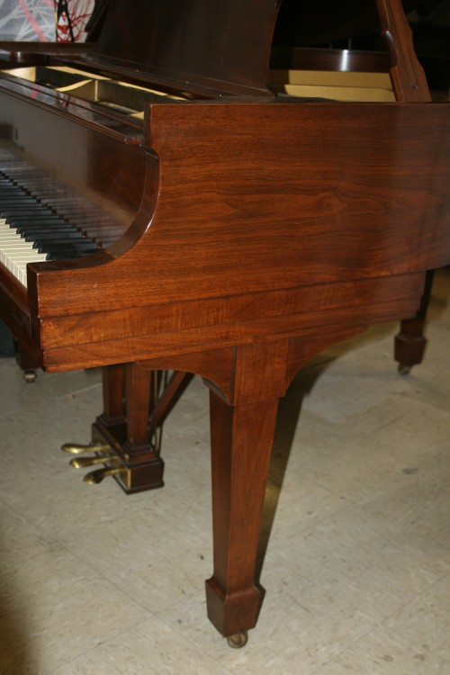 (SOLD Congratulations Summer and Family)  Steinway Baby Grand Piano Model S 5'1' 1936 Walnut (VIDEO) Refurbished 11/15/2013