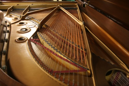 Steinway B Grand Piano Walnut 1964 Original Steinway Parts 1964 Mint, Excellent (SOLD)