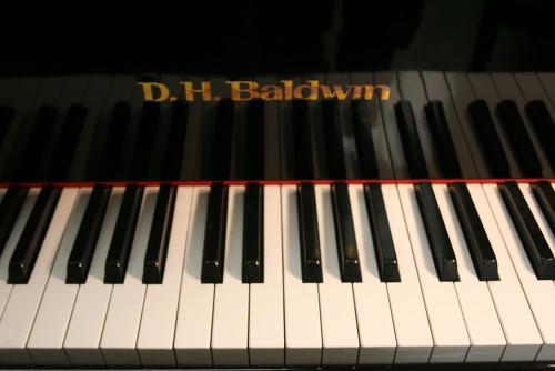(SOLD) Ebony Gloss DH Baldwin 5' 1