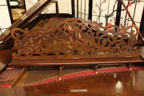 SOLD Rare Art Case Steinway Concert Grand  (VIDEO) Model D Rebuilt & Refinished Rosewood