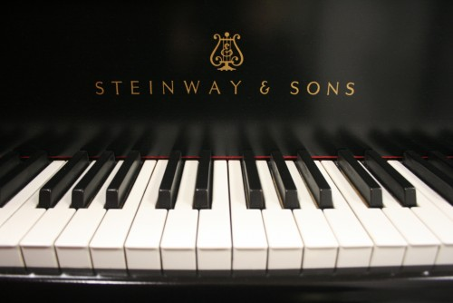 Steinway B Grand Piano New Ebony Satin Finish 1978 Excellent Like New Original Steinway Parts (SOLD)