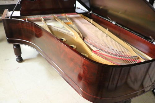 Art Case Rosewood Steinway C Grand Piano 7'2