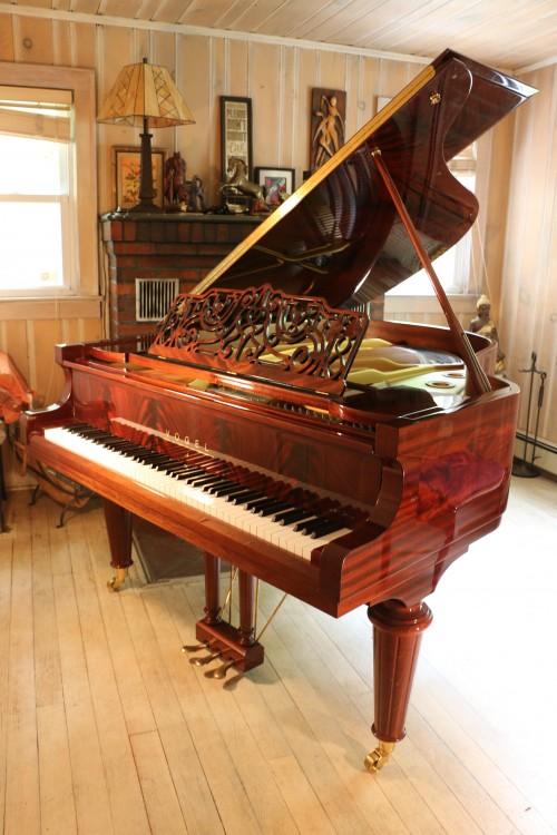 Gorgeous Art Case Vogel Grand 2009 Player Piano SOLD (VIDEO) by Schimmel Pianos