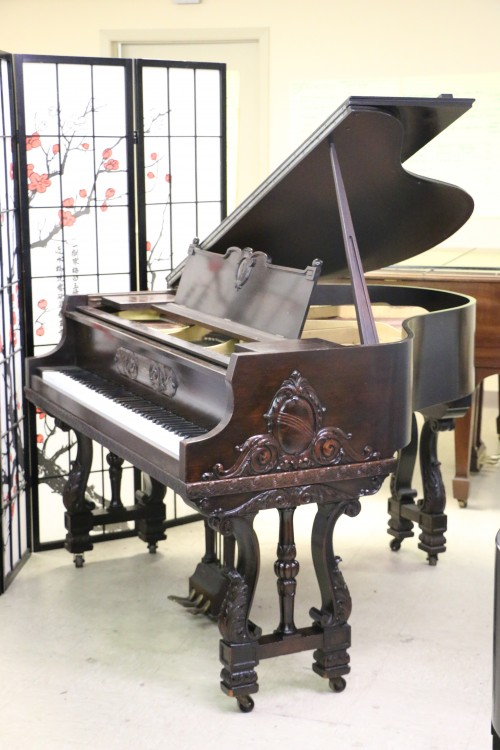 Gorgeous Tuscon Art Case Wurlitzer Piano & Matching Bench SOLD (VIDEO)