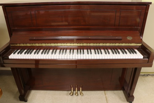 (SOLD) Gorgeous Steinway Upright Piano. 2002. Model 1098
