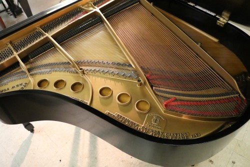 (SOLD) Steinway M Ebony Grand Piano. 1929 All Excellent Condition Steinway Parts (SOLD)