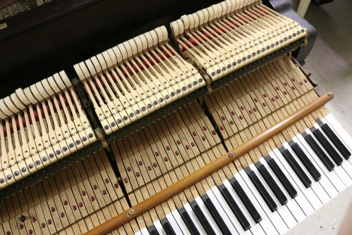 (SOLD) Steinway B 6'10.5 1893 Mahogany (VIDEO) Rebuilt 1997 88 keys