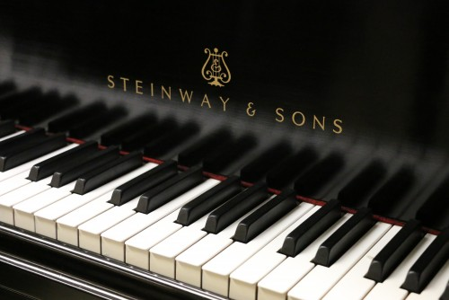 Steinway B 6'10.5 Ebony (SOLD) 1928 Refurbished/Refinished 07/2014