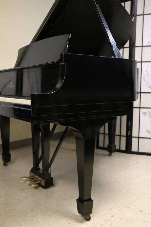 (SOLD) Steinway Baby Grand Model S 1941 Ebony Excellent