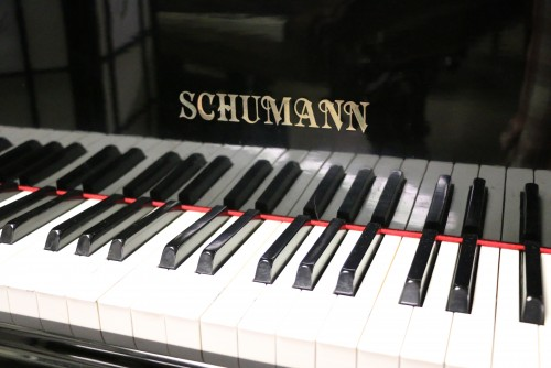 Ebony Gloss Schumann Baby Grand 1988 Piano Made by Samick Excellent In/Out