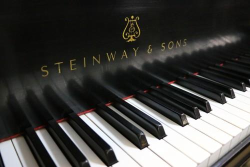 (SOLD) Steinway M Ebony 1997 Pristine, Like New , Showroom (SOLD)