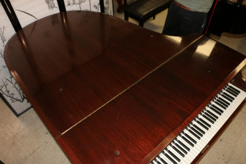 (SOLD!!) Art Case Chickering Mahogany Rebuilt/Refin