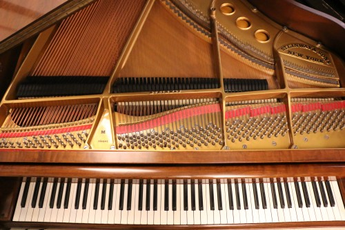 (SOLD) Art Case King Louis XV Steinway M SOLD (VIDEO) 1960 Pristine