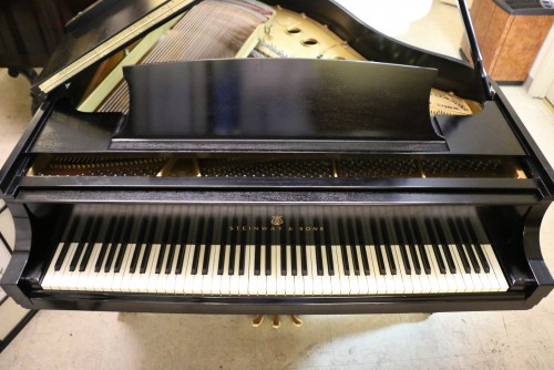 (SOLD) Steinway S Baby Grand Piano 5'1