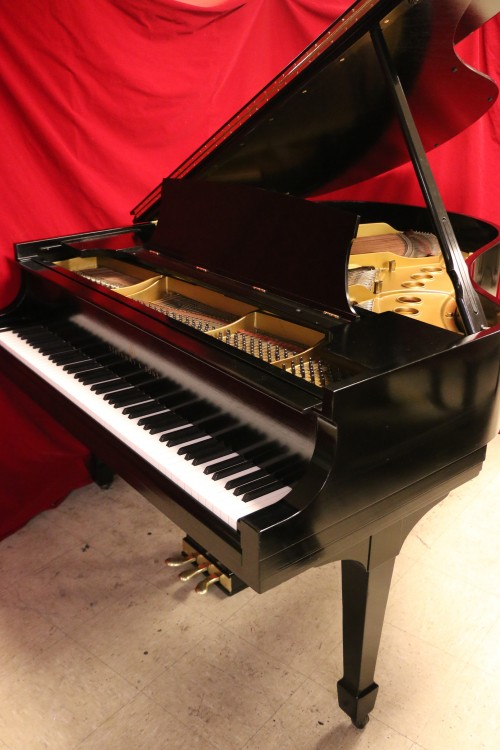(SOLD) Steinway M  Ebony Semi-gloss 1937 Grand Piano (SOLD)
