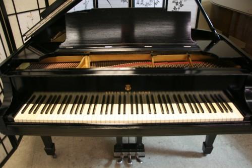(SOLD) Steinway M  Ebony Semi-gloss 1911 Grand Piano Refin./Refubished 4/2015 (SOLD)
