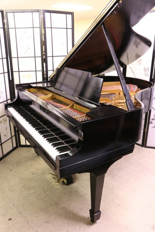 Used(SOLD) Steinway M Ebony 1936 Restored/Refinished 5/2015