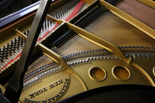 (SOLD) King Louis XV Style Art Case Steinway Grand Piano Model  O 5'10.5