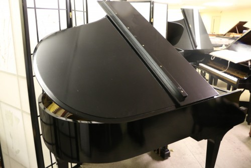 (SOLD)Steinway M  Ebony Semi-gloss 1945 (VIDEO) Grand Piano