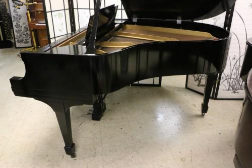 (SOLD) Steinway M  Ebony Semi-gloss $13,500 1927 (VIDEO) Grand Piano