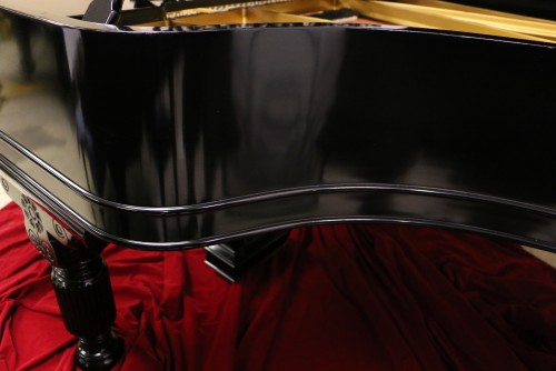(SOLD) Art Case Steinway A Victorian Style Fully Rebuilt  20 years ago Semi-Gloss Ebony