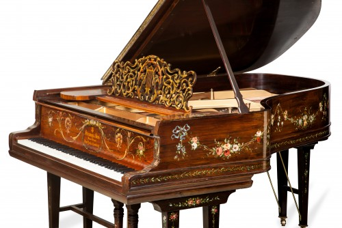 THE MILLION DOLLAR STEINWAY-Luxury Art Case Hamburg Steinway Model