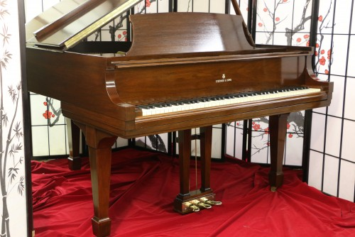 (SOLD) (DEAL OF THE WEEK)  Steinway Baby Grand Model S 5'1